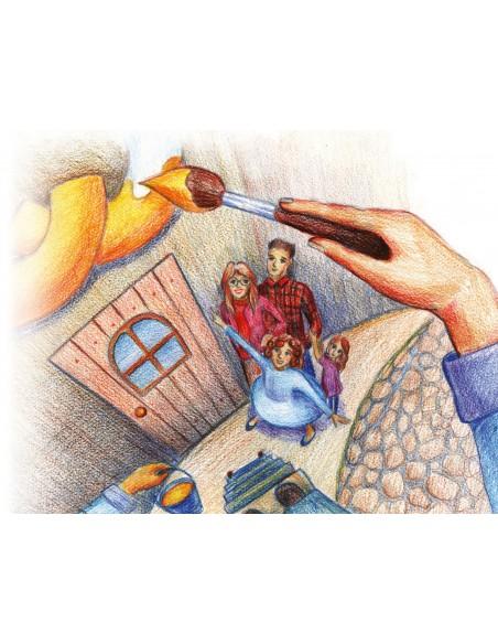 Brelok mini Asteriks z dzkiem Plastoy