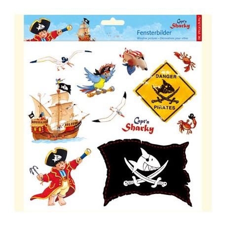 Kapitan Sharky i tajemnicza wyspa skarbów - książka dla małych piratów