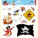 Kapitan Sharky naklejki na okno lub szafę pokoju pirata